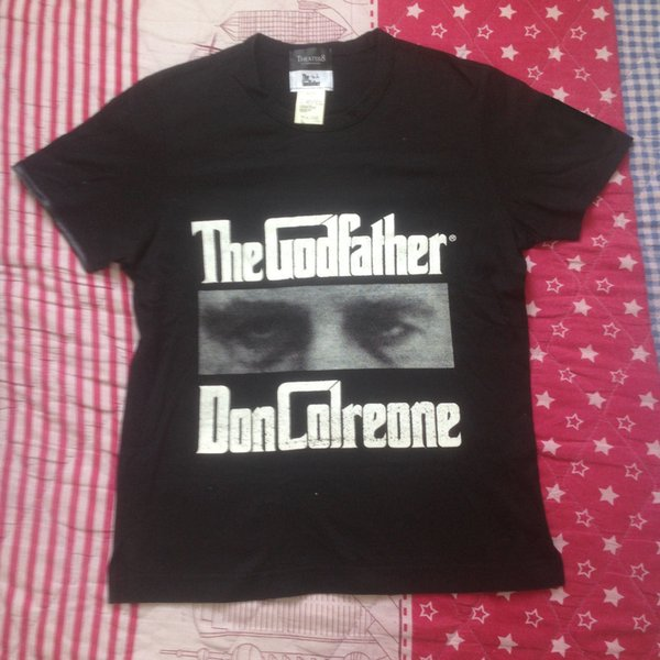 MASTERMIND JAPAN X THE GODFATHERS X THEATER 8 GANGSTERISME MOVIE T-SHIRT Men Women Unisex Fashion tshirt Free Shipping S