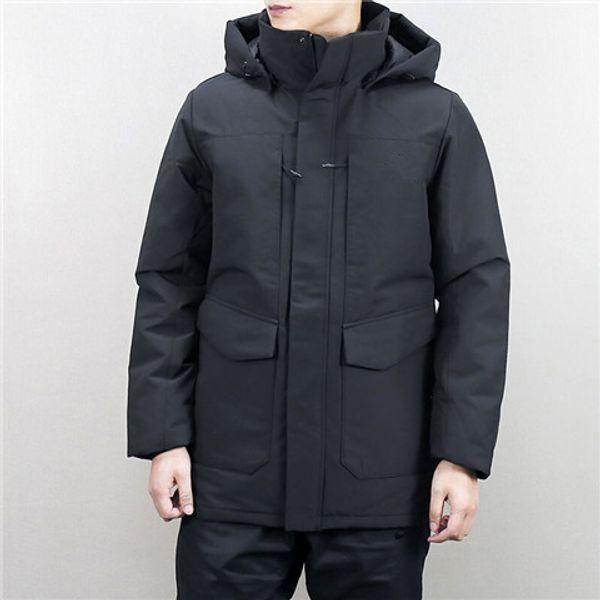 Venta al por mayor diseñador para hombre invierno rompevientos chaquetas acolchadas marca abrigo al aire libre acolchado grueso de alta calidad color sólido casual moda B100059L