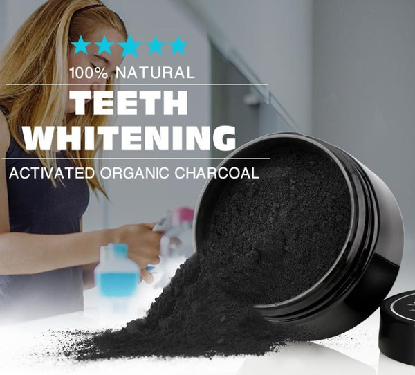 top popular new arrival Hot Sealed Activated Charcoal Teeth Whitening Powder charcoalDental Whitelight Tooth powder 2021