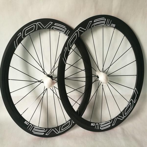 Light weight 700C full carbon bike wheels ud matt white rovai cxl 50 50mm bicycle wheels carbon made in taiwan basalt surface free shipping
