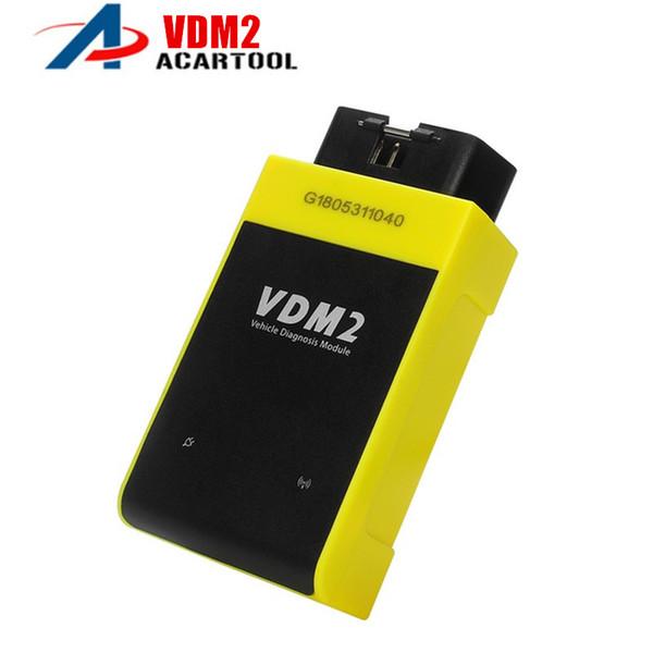 2018 New UCANDAS diagnostic tool VDM II Wifi & Bluetooth Automotive Scanner VDM2 V5.2 Multi-language Android System