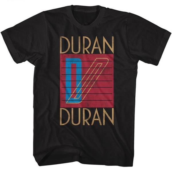 Duran Duran Band Logo Yetişkin T Gömlek Yeni Dalga Pop Müzik