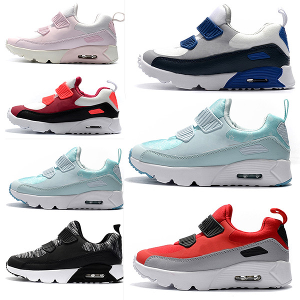 Compre Nike Air Max 90 Zapatillas De Deporte Para Niños Zapatillas Presto 90 II Niños Deportes Ortopédicos Jóvenes Entrenadores Para Niños Infant