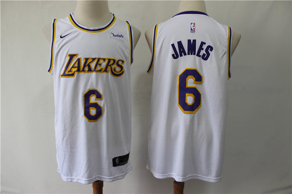 huge selection of 42554 25003 2019 2020 New Mens 6# LeBron James Swingman Jersey Authentic ...
