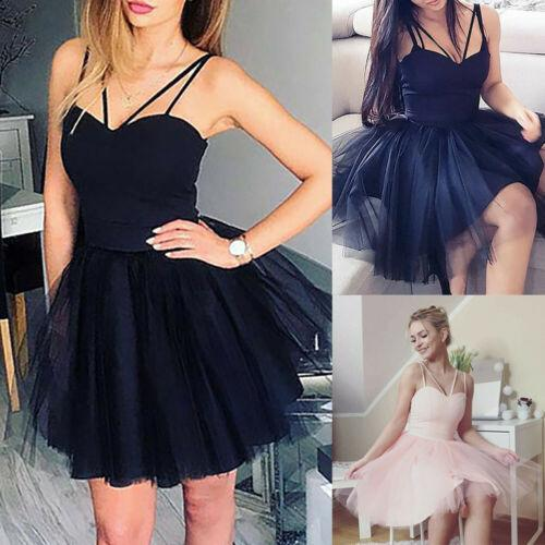 Sexy Sleeveless Tutu Dress Women Wedding Strappy Short Tulle Tutu Dresses Evening Party Ball Prom Gown Summer Lady Formal Dress