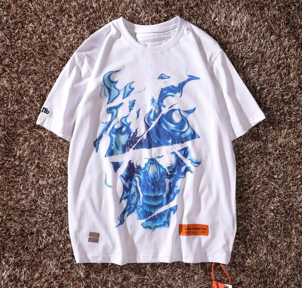 Heron Preston Hommes Designer T-shirts Hip Hop T Shirts Hommes Femmes Chemise De Créateur Heron Preston Polo Luxury Shirt 50