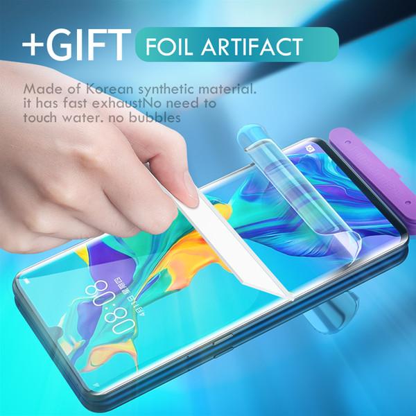 9D Full Cover Soft Hydrogel Schutzfolie für Huawei Honor 9 8 10 Lite Displayschutzfolie für Huawei P30 Pro P20 Lite Film Glas