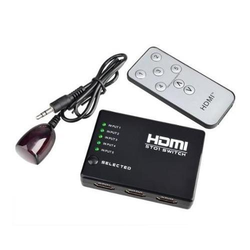 S-Line 3D 5x1 HDMI Switch Multiplexer Ship from Turkey HB-000459827