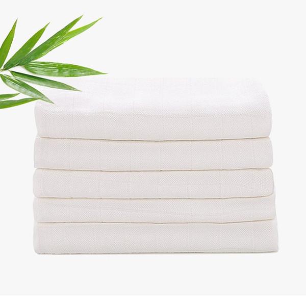Paño de bebé lavable Pañal Fibra de bambú Reutilizable newbron Kids Blanco Pañal Absorción de agua 3 tamaños Cambio almohadilla toalla manta AAA2202
