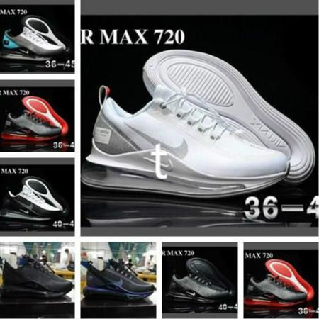 2019 new nb pnike nb pmax 72c run utilit air mattre ca ual cla ic me h breathable hock ab orbing racing hoe training neaker, Black;white
