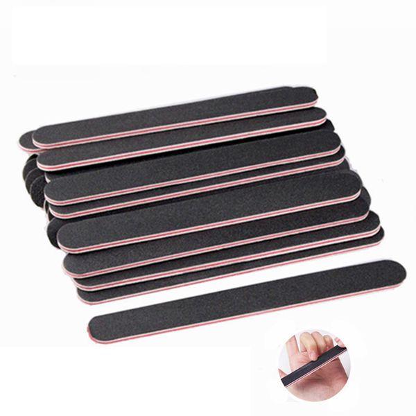 Nail Art Sanding Salon Buffer Nail Files Sandpaper Manicure UV Gel Polisher Manicure Pedicure Nail Tools 100Pcs /set RRA1393