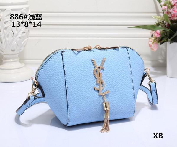 2019 Design Women's Handbag Ladies Totes Clutch Bag High Quality Classic Shoulder Bags Fashion Leather Hand Bags Mixed Order Handbags Y089