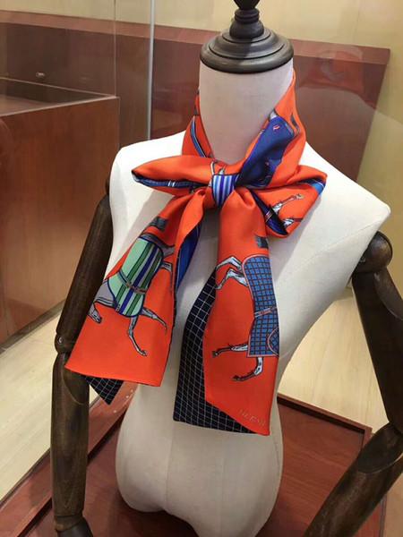 Новый шарф весной и летом 2019 года, парижский модельер Модная новинка Pony Design Series 160