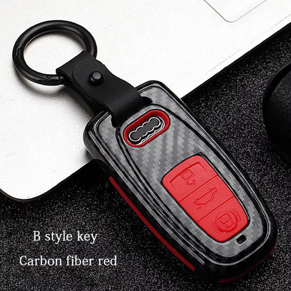 B style - Red Carbon fiber