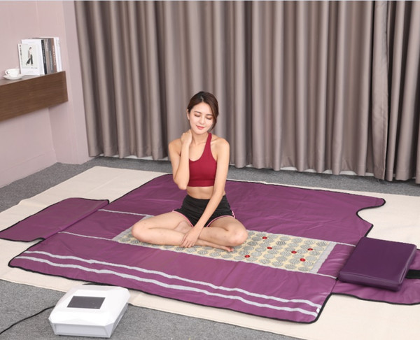 Newest TopQuality 3 Zoned Carbon fiber Far Infrared sauna Blanket