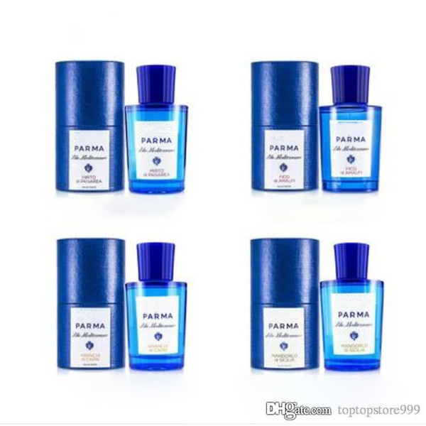 Profumi per unisex Acqua Di alta qualità Blu bottiglia 75ml EDT / EDP spedizione gratuita consegna espressa