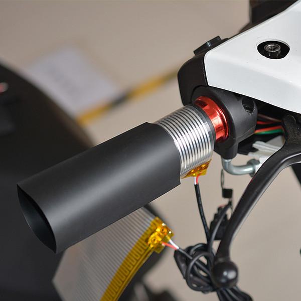 Heißer Verkauf 12 V Universal Motorrad ATV Beheizte Griffeinsatz Lenker Handwärmer kit pads