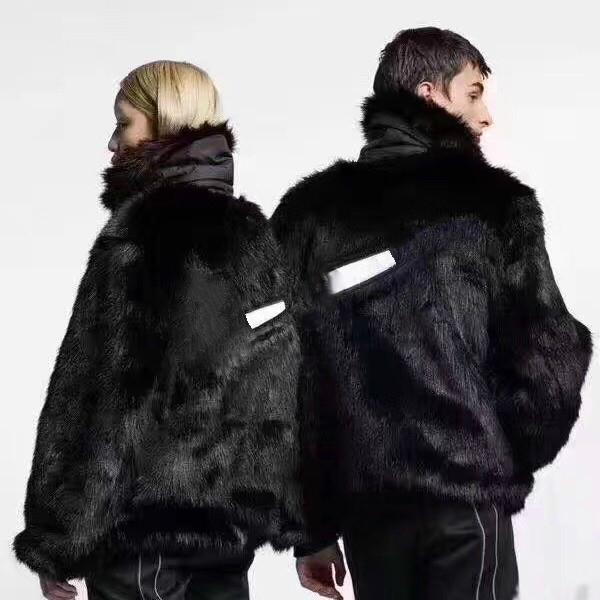 19ss Ambush Fur Coat Reversible Jacket Peluche Fur Double-faced Coat Warm Uomini e donne Confortevole alta qualità Jacket Hfwpjk123