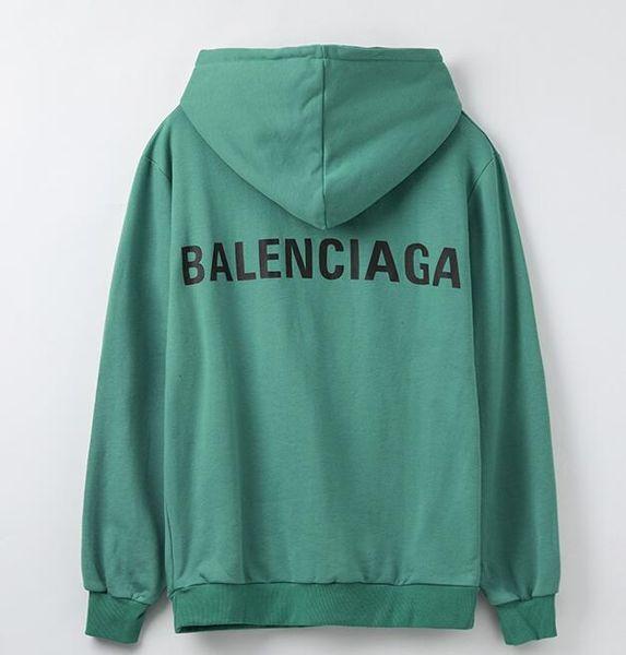 2019 Vetements Antwerpen Hoodies BLCJ Gedruckte Nähte Sweatshirts Hip Hop Herren Damen Übergrößen Streetwear Hoodies Rot Blau