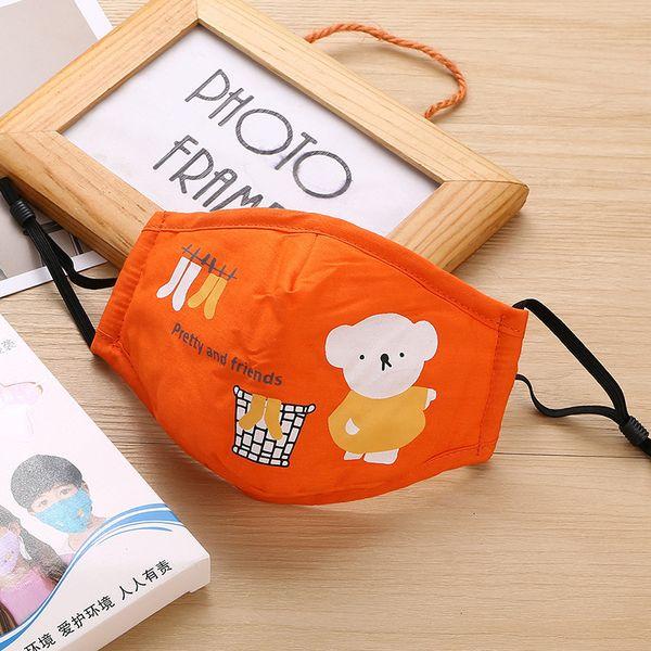 petit ours d'orange sans clapet