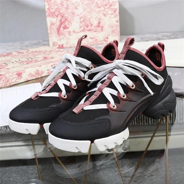 2019 Moda Donna Sneakers, calzini B21 D CONNECT Sneakers floreali Estate casual Donna Scarpe di marca Zeppe Stivali con plateau