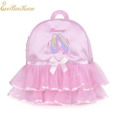 Ballet Sport Ballerina bags Backpacks Handbag For Dancing Children Canvas Bag Girls Ballet Dancer Bags Kids Pink Backpacks