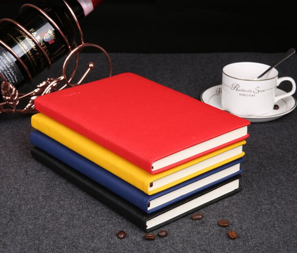 creative gift notebooks A5 notebook custom creative PU leather notebook business office notebook set custom logo