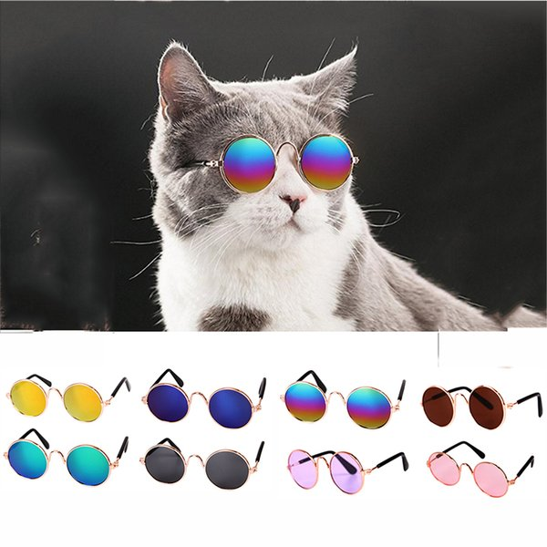 Hoomall Dog Eye-wear Pet Sunglasses Multicolor For Dog Pet Products Photos Props Accessories Supplies Cat Glassesoys