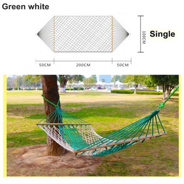 녹색 흰색 (단일)