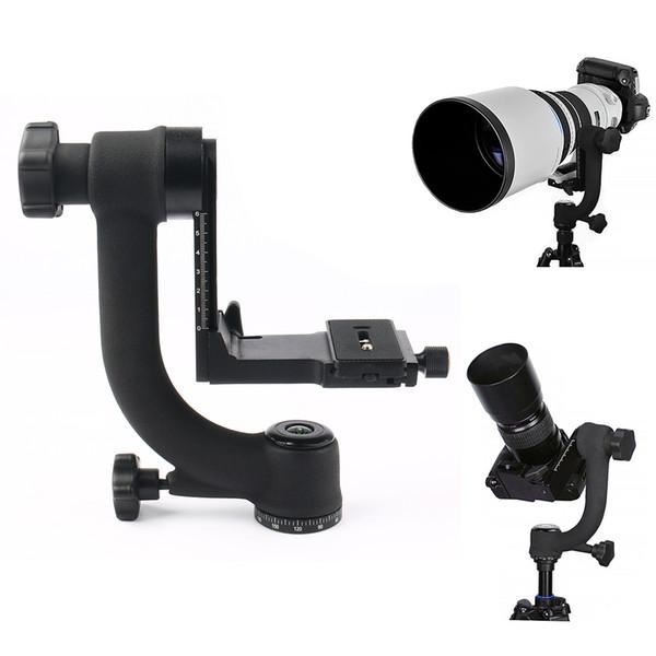Avistamiento de aves PTZ 360 ° Fotografía panorámica Estable Soporte para cámara Gimbal Trípode