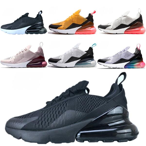 Nike air max 270 2019 Athlétique Chaussures Sportives Arc-en-ciel Hommes Créateurs Sneakers Homme Marchant Sport Noir Randonnée Jogging Max TN 2018 Femmes Chaussures de course