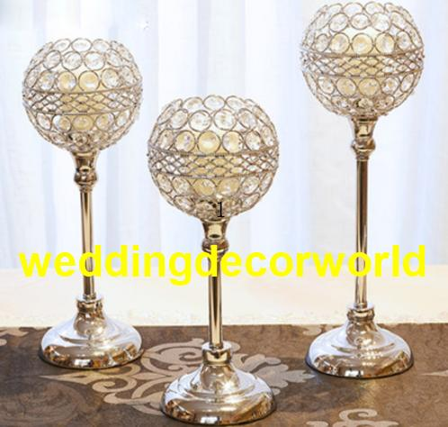 New style Metal Golden Candle Holders Hollow Crystal Wedding Table Candelabra Centerpiece Flower Rack Road Lead For Home Decor best0571