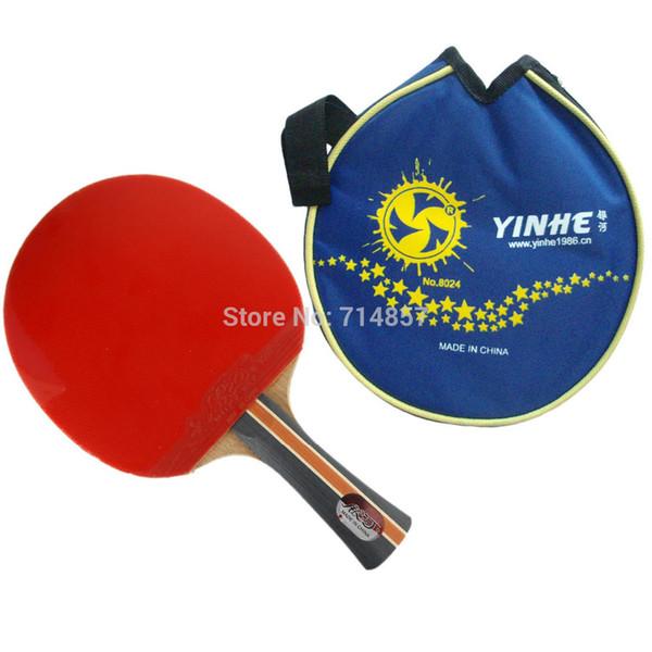 Original Yinhe Milky Way Galaxy 04B 04 B 04-B pips-in shakehand table tennis pingpong racket + a bat case Long Shakehand FL
