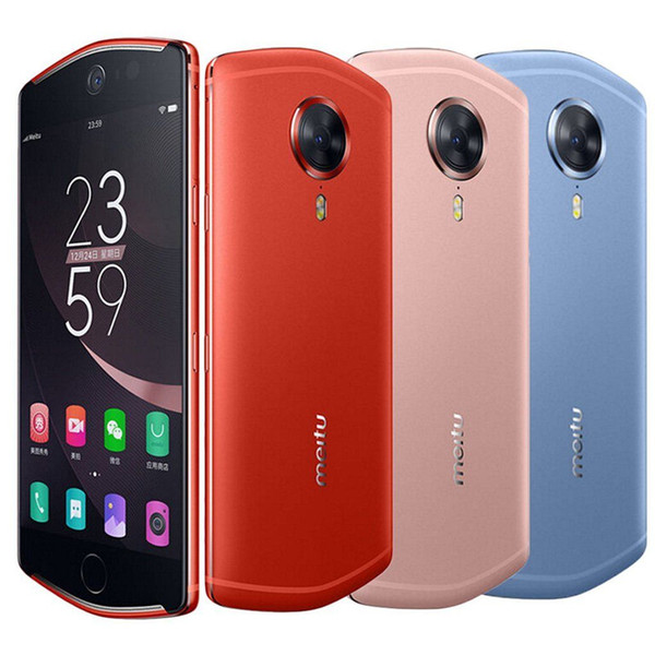 """Unlocked Original Meitu T8 4G LTE Mobile Phone 4GB RAM 128GB ROM MT6797 Deca Core Android 5.2"""" 21.0MP Selfie Beauty Face ID Smart Cell Phone"""