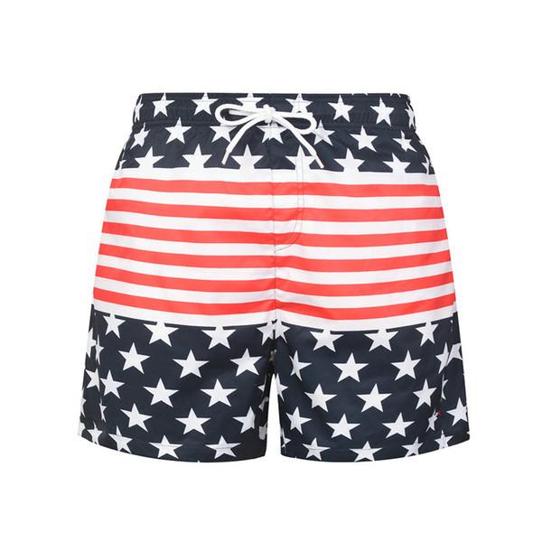 Summer Shorts 2020.2019 2020 Summer Fashion Shorts New Designer Board Short Quick Drying Swimwear Printing Board Beach Pants Men Mens Swim Shorts From Yanbaby2017