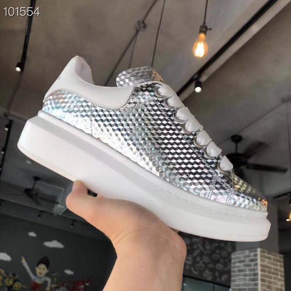 2019 Marka Tasarımcısı Erkek Kadın Ayakkabı Boy-tek Eğitmenler Arena Sneakers Koşucular Yarış Mens Womens Yıldız Beyaz Gösterisi Lace up Rahat xsd190903