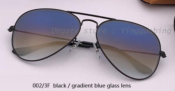 002 / 3F черный / градиентный синий