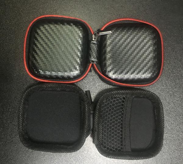 Neue tragbare mini reißverschluss kopfhörer tasche pu leder schützende headset abdeckung usb kabel organizer container ohrhörer pouch box für kopfhörer case