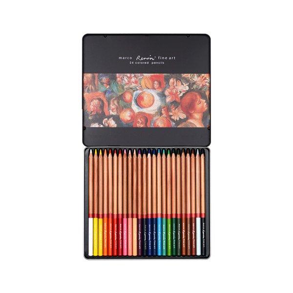 24 Farben Blechdose