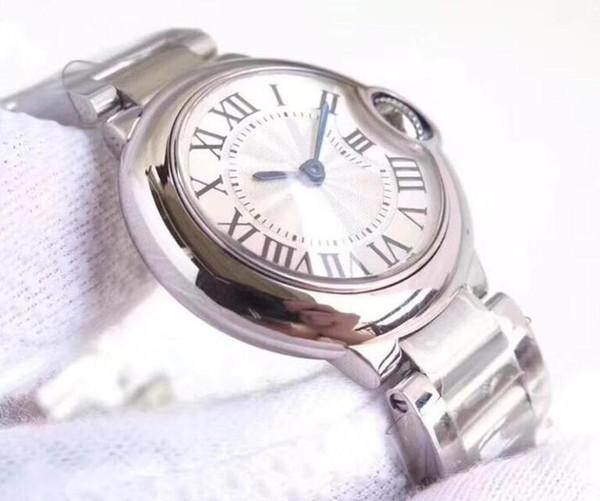 Sıcak satış erkekler Safir cam 2813 hareketi kronograf mens saatler kol saati izlemek saatler basit otomatik seyretmek kadınları izle