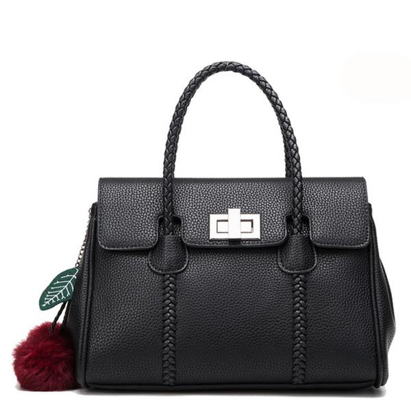 5dc3dc96252d Женская натуральная кожа сумка сумки личи Pattern сумка Crossbody сумки  верхняя ручка дамы кошельки (бордовый