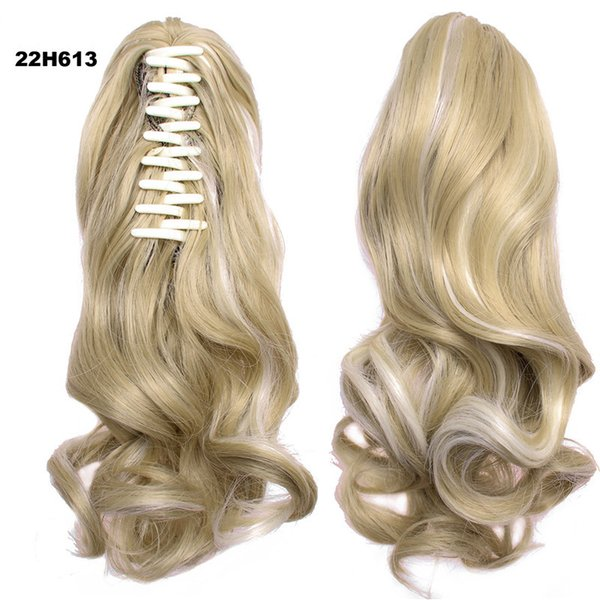 VMAE Wholesale Long Drawstring Curls Wavy Ponytail Claw Clip Ponytail Synthetic Hair Extensions beautiful tools organizer hairstyle