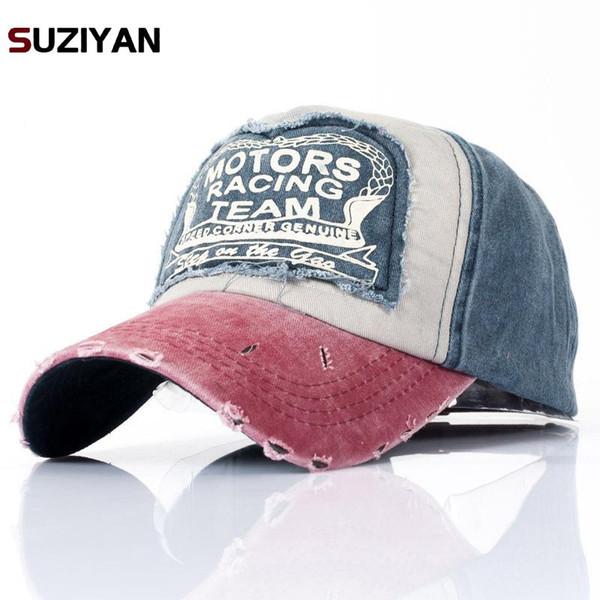 Hats For Men Women Grinding Multicolor Wholesale Spring Cotton Cap Baseball Cap Hat Summer Hip Hop Fitted