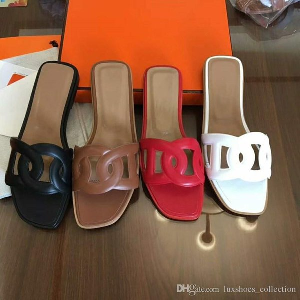 2019 latest women slippers,Pig nose style shoes, Multi-colored lady flat slippers ,With the packing