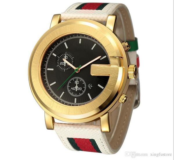 Top brand new luxury coppia di diamanti orologi da uomo in acciaio inox impermeabile al quarzo orologi moda donna striscia di tela orologio