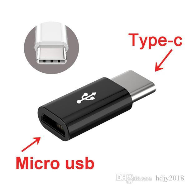 best selling Mini Micro USB cable 2.0 to Type c USB 3.1 Cable Type-C 3.0 Adapter Fast Charger USB-C Data Sync converter for huawei xiaomi andorid phone