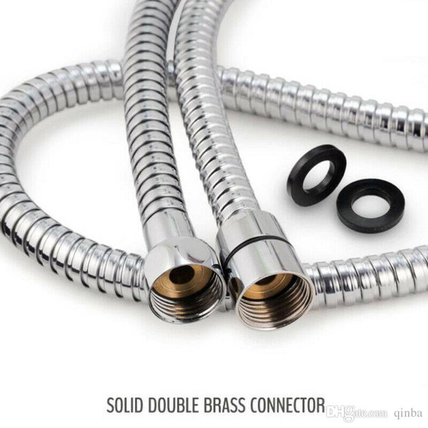 1.5-2 meters hot water cold water shower high pressure pipe stainless steel hose stainless steel 1.5M, 1.75M, 2M