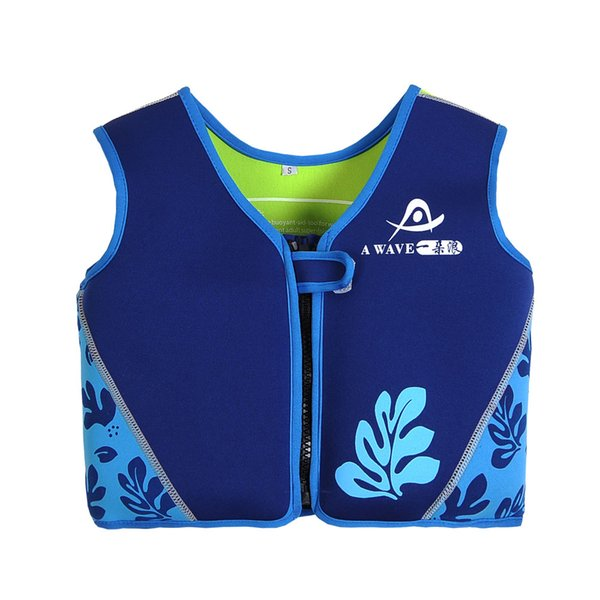 3 Color 3 Size Children's Inflatable Swimming Vest Water-Skiing Jackets Life Jacket For Kids Sandbeach Surfing Vests