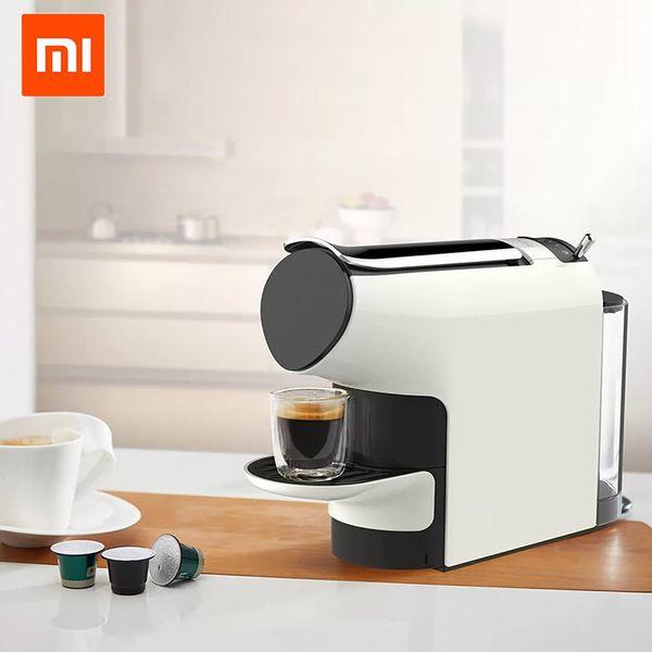 Xiaomi MIJIA SCISHARE máquina de café inteligente 9 nível café máquina predefinida compatível com multi-marca cápsulas