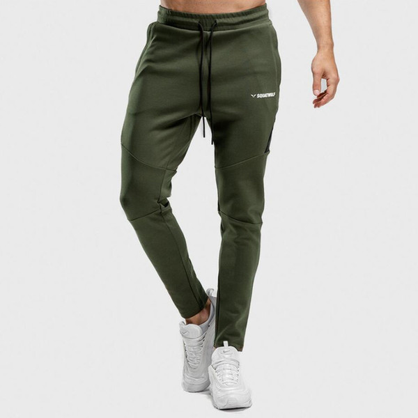 Jogger Jogginghose Herren Running Sport Slim Pants Baumwolle Sportswear Hosen Herbst Herren Gym Fitness Training Workout Trainingshose